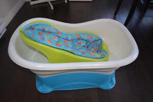 baignoire et siège de bain pour bébé