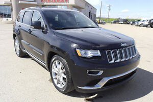 2015 Jeep Grand Cherokee Summit Heated/Cooled Seats/DVD/4x4