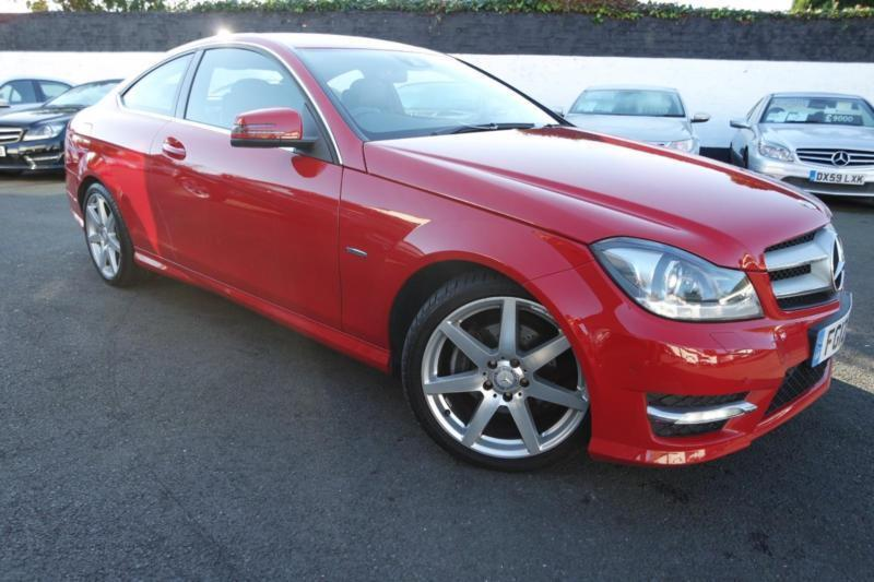 2012 mercedes c class c220 cdi blueefficiency amg sport 2 1 2 door coupe 6 speed in eltham - Mercedes c220 coupe amg sport ...