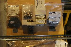 DIN Rail, DIN Terminal Blocks and some Used parts