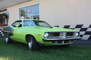 1973 Plymouth Cuda 340  REDUIT!