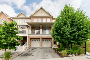 Spacious Townhome In Whitby For Rent!