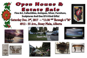 Open House, Art, Sculptures, Antiques and Collectibles