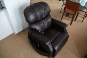 Leather heater and massage chair