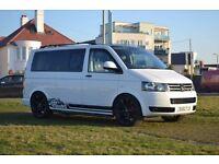 VW T5 6 seat Camper Van, Very Long Warranty, Brand New Conversion!