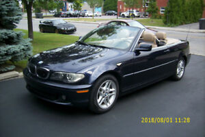 BMW 325 CI CONVERTIBLE AUTOMATIQUE 2004