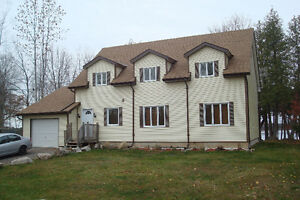 HOME/COTTAGE, YEAR ROUND, LAKEFRONT, NEWLY BUILT