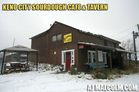 Tavern & Cafe for sale in Keno City - AJ Malcolm Dome Realty Inc