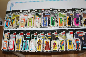 Star Wars figures - 1978 - 1980 Vintage Kenner branded