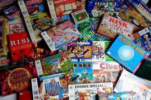 Achète vos jeux de société,Bd,Article vintage ou vos Dons