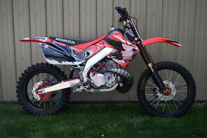 1991 cr500 with aluminum doner frame for 500af