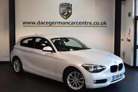 2014 64 BMW 1 SERIES 1.6 116D EFFICIENTDYNAMICS 3DR 114 BHP DIESEL
