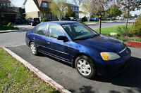 2002 Honda Civic LX Berline