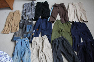 13 Pairs of Boys Size 2 Pants