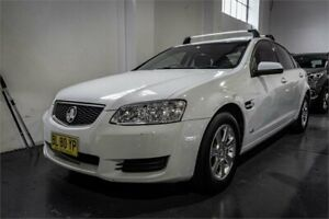 2011 Holden Commodore VE II Omega White 6 Speed Automatic Sedan Fyshwick South Canberra Preview