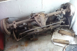 MGB Front and Rear Axles