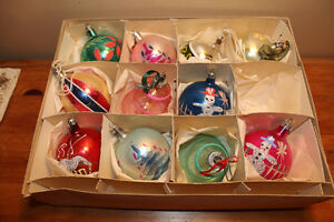 Vintage Boxes of Glass Christmas Ball Ornaments #1 London Ontario image 1