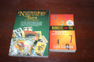 Numerology Key to the Tarot & Numbers and You - Both New