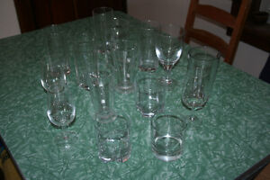 16 piece set of glassware. Beautiful and ready to use.