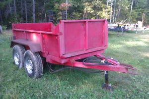 FARM DUMP TRAILER-CHAINS-WOOD SPLITER