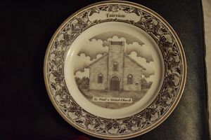 Church Collectible Plates  (5)