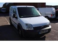 2008 Ford Transit Connect Low Roof Van L TDCi 90ps Diesel white Manual