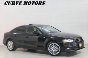 2016 Audi A4 S-LINE AWD *ROOF/LED XENON/PUSH START/LEATHER
