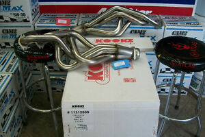 "Ford Mustang GT V8 4.6L Kooks Long Tube Headers 1"" 5/8 Off Road"