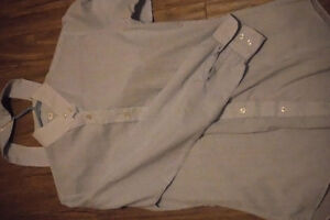 Size 12 English show shirts with collars