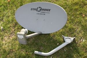 Shaw Direct Satellite Dish Triple xku & Dual Quad