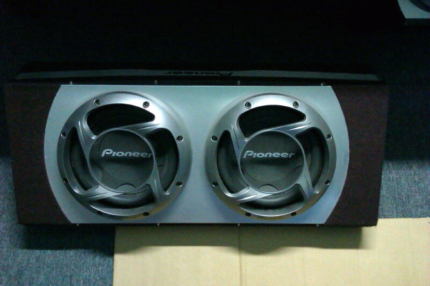 12 inch Pioneer Dual Subwoofer