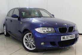 2008 57 BMW 1 SERIES 2.0 118I M SPORT 5D 141 BHP