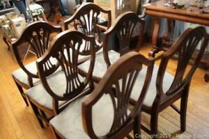 Dining Room Chairs. B