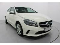 2017 WHITE MERCEDES A180D 1.5 SPORT EXECUTIVE CAR FINANCE FR £217 PCM