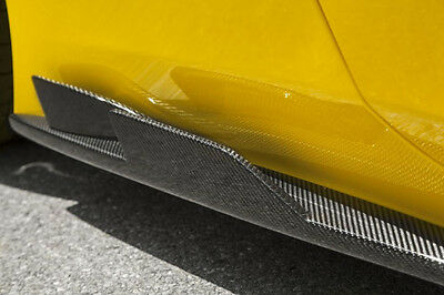 Novitec Carbon Side Skirts with Double-Fins - Ferrari 458 Speciale