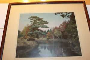 Vintage 13 x 15 Photograph Of The Annapolis River at Wilmot