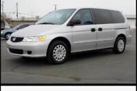 2003 Honda Odyssey Minivan certified and etested