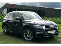 2018 Audi Q5 S line 2.0 TFSI quattro 252 PS S tronic Auto Estate Petrol Automati