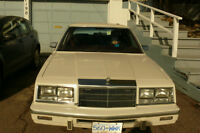 '87 New Yorker the first owner was a elderley lady,
