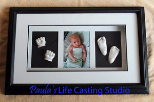 Newborn Casting and Shadow Box