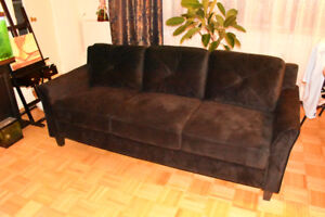 Brand New Sofa with curved arms