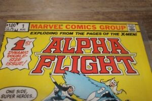 ALPHA FLIGHT 1ST DYNAMIC DOUBLE SIZE ISSUE
