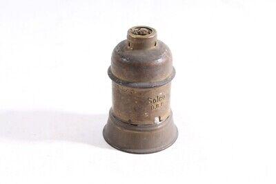 Old Lamp Socket E27 Socket Brass Lamp M10x1 Solco Drp