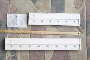 Undercounter lights, two sizes