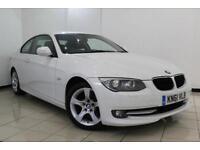 2011 61 BMW 3 SERIES 2.0 320D SE 2DR AUTOMATIC 181 BHP DIESEL