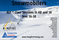 Snowmobile Avalanche Training - Swift Current