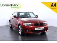 2012 BMW 1 SERIES 120D SE COUPE DIESEL