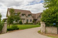 Waterfront incredible estate property 8.8acres Kemptville