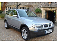 BMW X3 3.0d 2006 SE, 113K MILES, 1 OWNER, FULL S/HISTORY, NEW MOT,