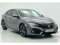 2018 Honda Civic 1.5 VTEC Turbo Sport Plus 5dr CVT Auto Hatchback Petrol Automat